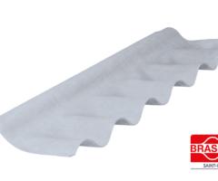 Cumeeira Articulada Para Telha Ondulada De Fibrocimento 6 Mm De Espessura – Aba De 35 Cm – Comprimento 1.10 M