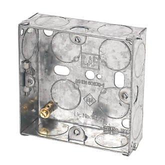 Caixa De Luz - 4 X 4 Polegada(s) Em Aço
