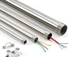 Eletroduto Em Aço Galvanizado Eletrolítico - Diâmetro 3/4 Polegada(s) - Parede De 0.90 Mm