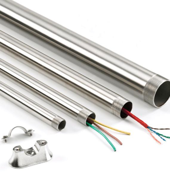 Eletroduto Em Aço Galvanizado Eletrolítico - Diâmetro 1 1/4 Polegada(s) - Parede De 1.20 Mm