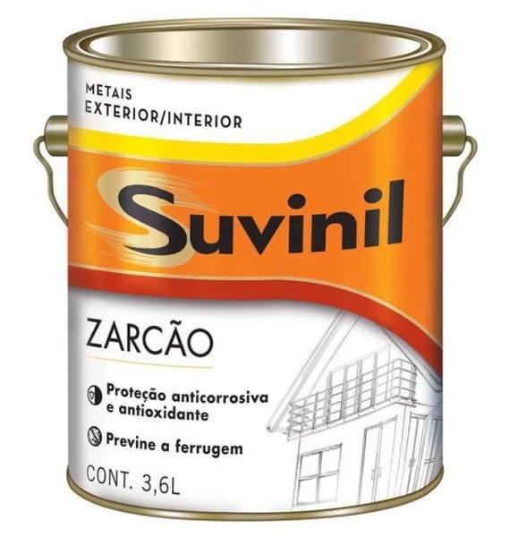 Fundo Anticorrosivo Para Metais Ferrosos (Zarcão) 3,6 litros
