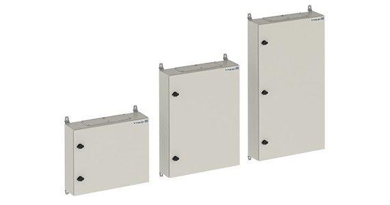 Quadro De Distribuição Com Barramento Trifásico - De Sobrepor - Em Chapa De Aço Galvanizado - Para 30 Disjuntores Din - 100 A