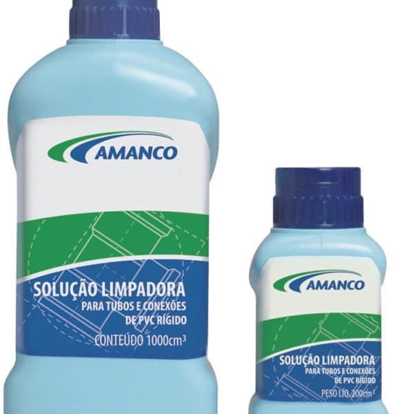 Solução Limpadora Para Pvc, Frasco Com 1 litro