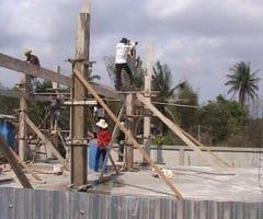 Pilar De Concreto 15×15 Cm Com 3,00 M De Comprimento Para 5 Toneladas De Carga Incluindo Fôrma, Armação e Concreto