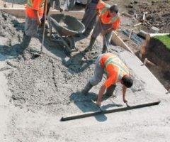 Lastro de Concreto Com Impermeabilizante, Incluindo Preparo e Lançamento, E = 5 Cm